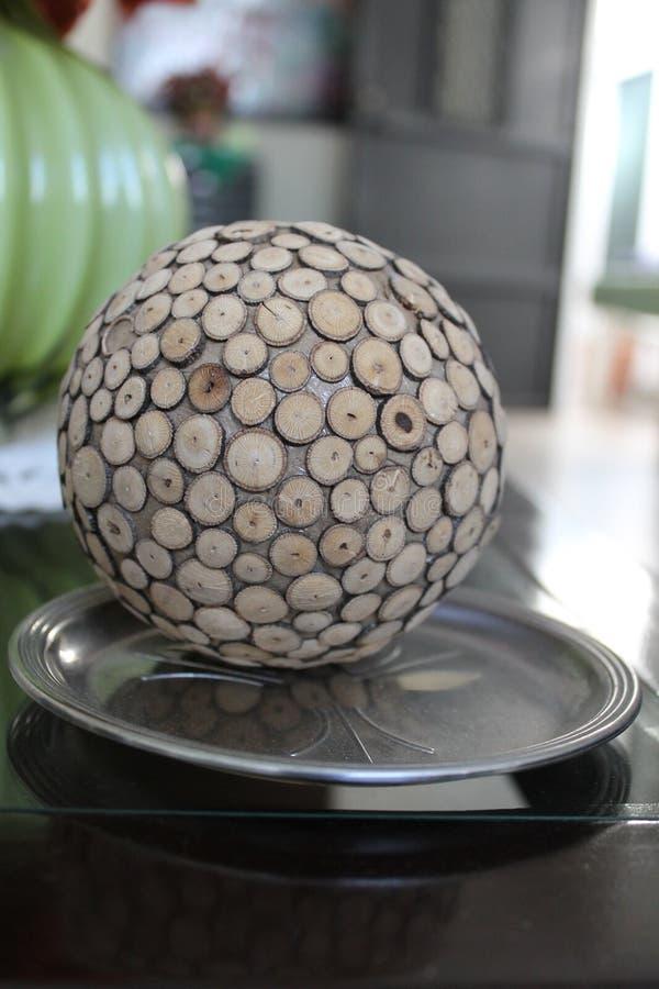 Decorazione domestica, palla decorativa immagine stock libera da diritti