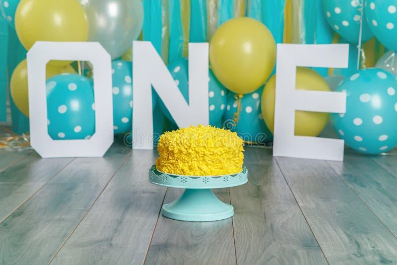Decorazione festiva del fondo per la celebrazione di compleanno immagini stock