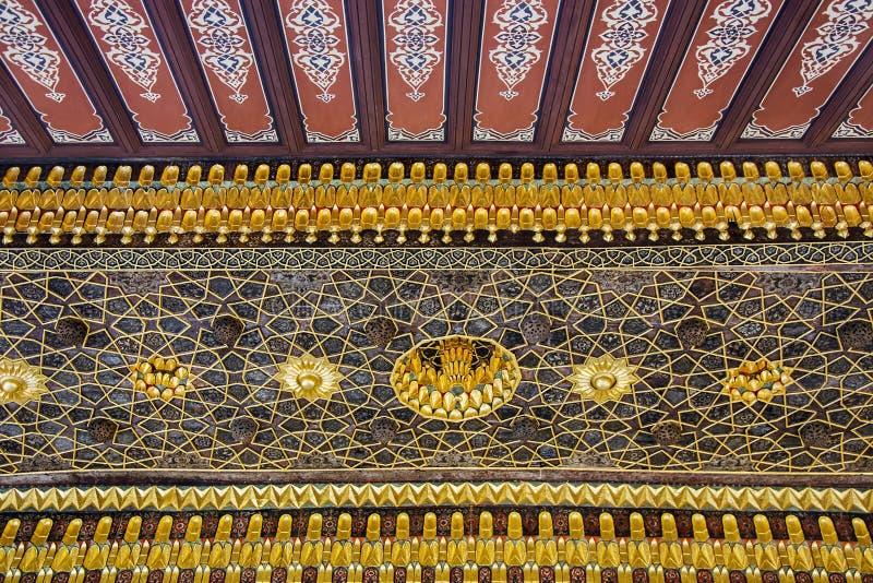 Decorazione islamica storica, motivo immagini stock libere da diritti