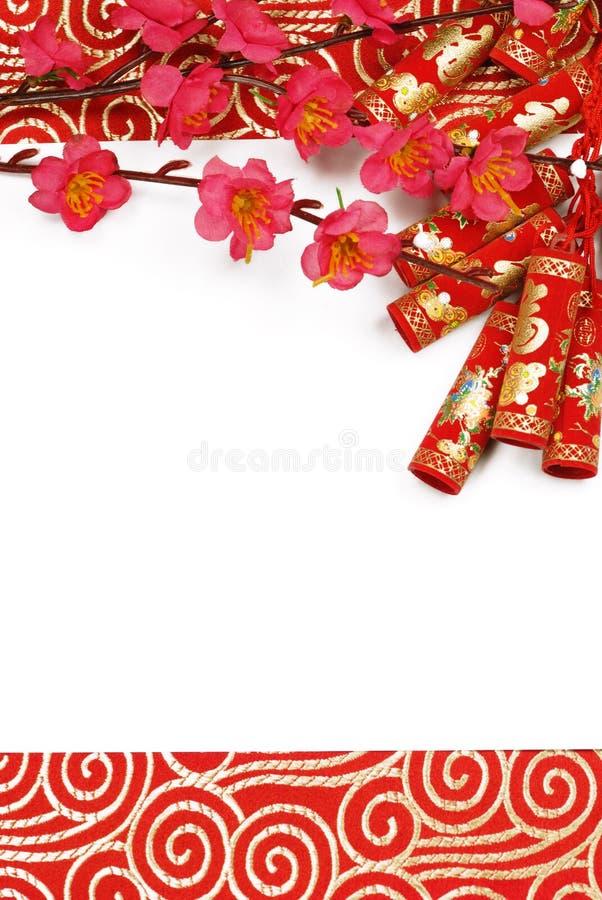 Decorazione lunare cinese di nuovo anno immagine stock libera da diritti