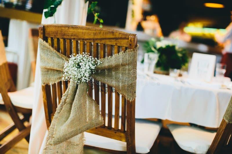 Decorazione rustica di nozze di Viintage immagini stock