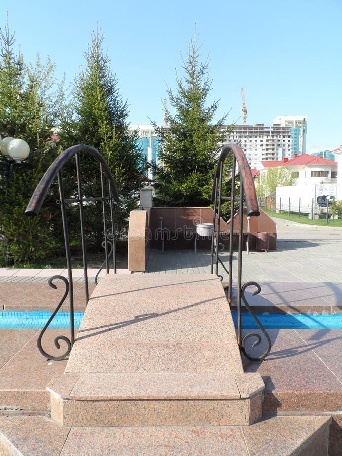 Decorazioni a Astana fotografie stock libere da diritti