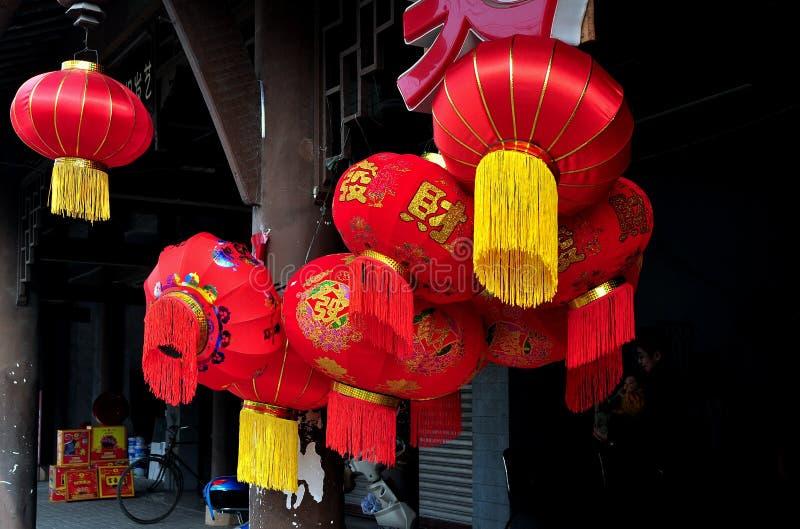 Decorazioni cinesi 2013 dell'nuovo anno fotografie stock
