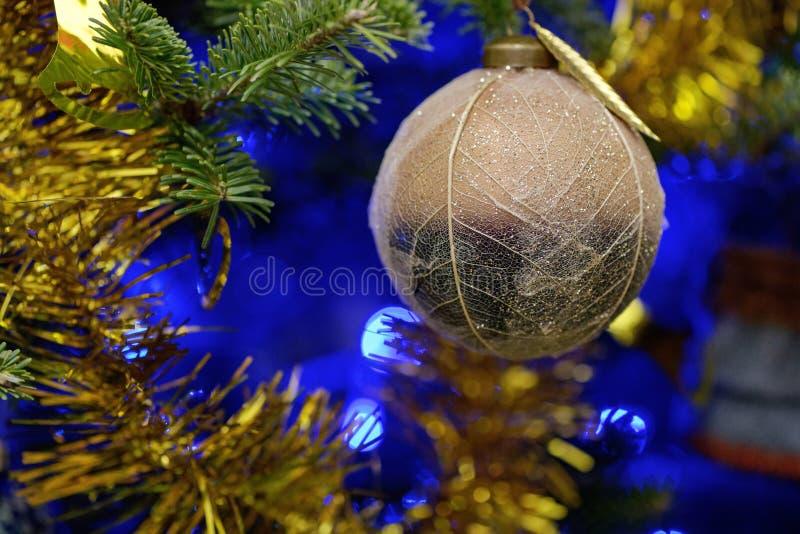 Decorazioni del nuovo anno immagini stock