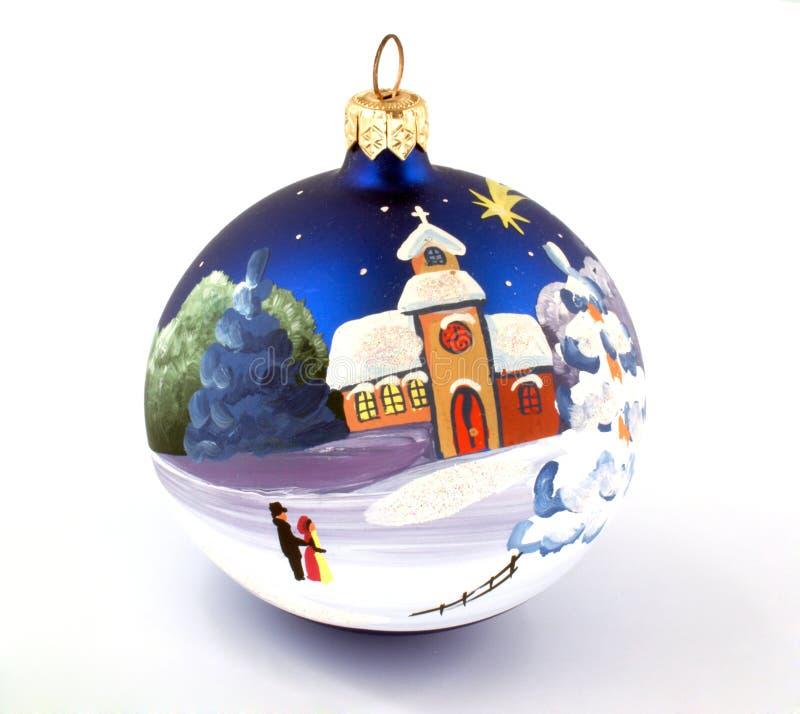 decorazioni dell'Natale-albero fotografia stock
