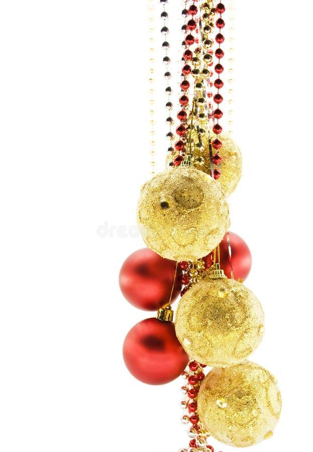 decorazioni dell'Natale-albero immagini stock libere da diritti