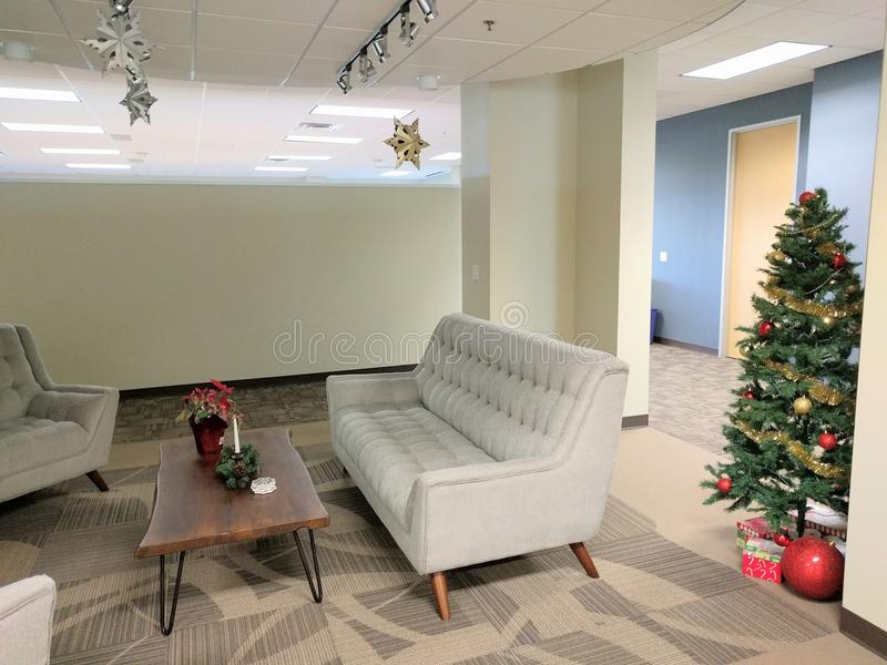 Decorazioni Ufficio Natale : Decorazioni dell ufficio di natale immagine stock immagine di