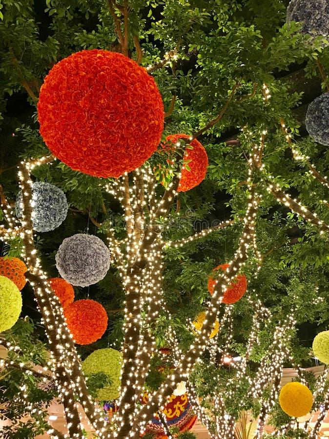 Decorazioni di Natale, Las Vegas, Nevada immagini stock libere da diritti