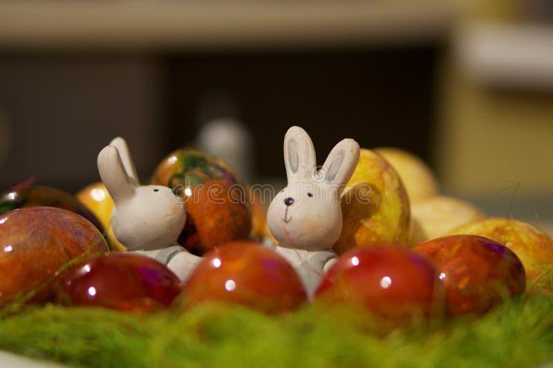 Decorazioni di Pasqua fotografia stock libera da diritti