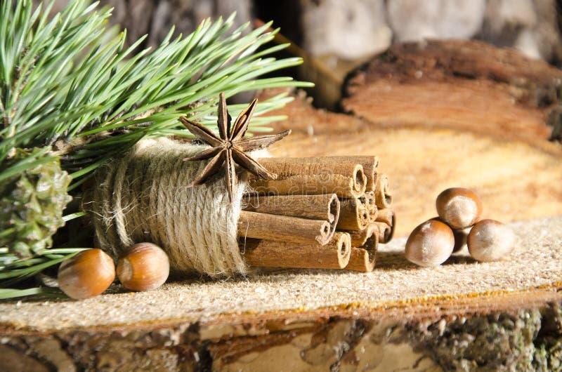 decorazioni fatte a mano di Natale immagine stock