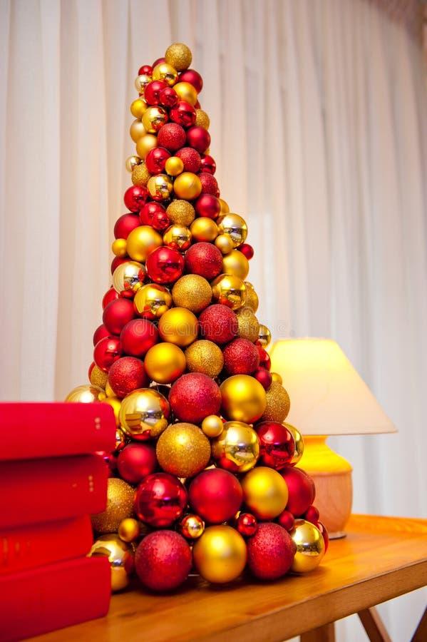 Decorazioni originali di Natale e del nuovo anno per la festa fotografie stock