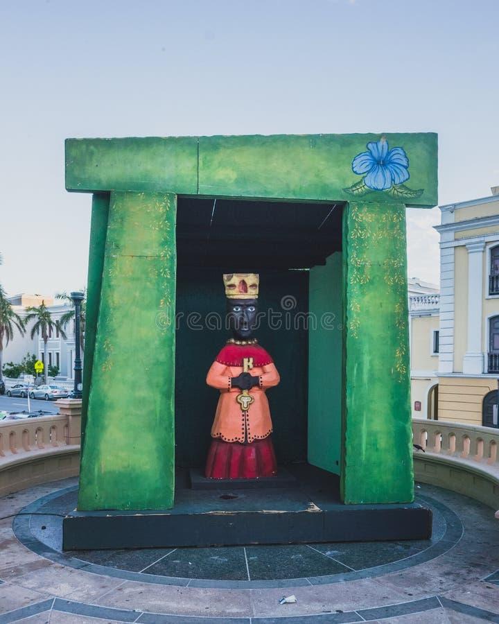 Decorazioni per celebrare il Day dei tre re fotografia stock