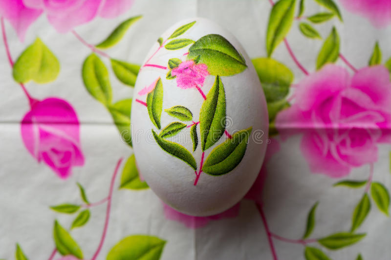 Decoupage easter egg decorated with flowered paper napkins abov download decoupage easter egg decorated with flowered paper napkins abov stock photo image of mightylinksfo