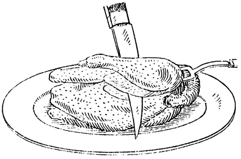 Decoupage-poulet Free Public Domain Cc0 Image