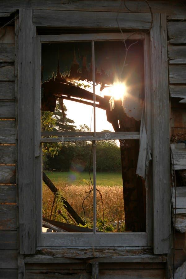 Decrepit Farmhouse stock image