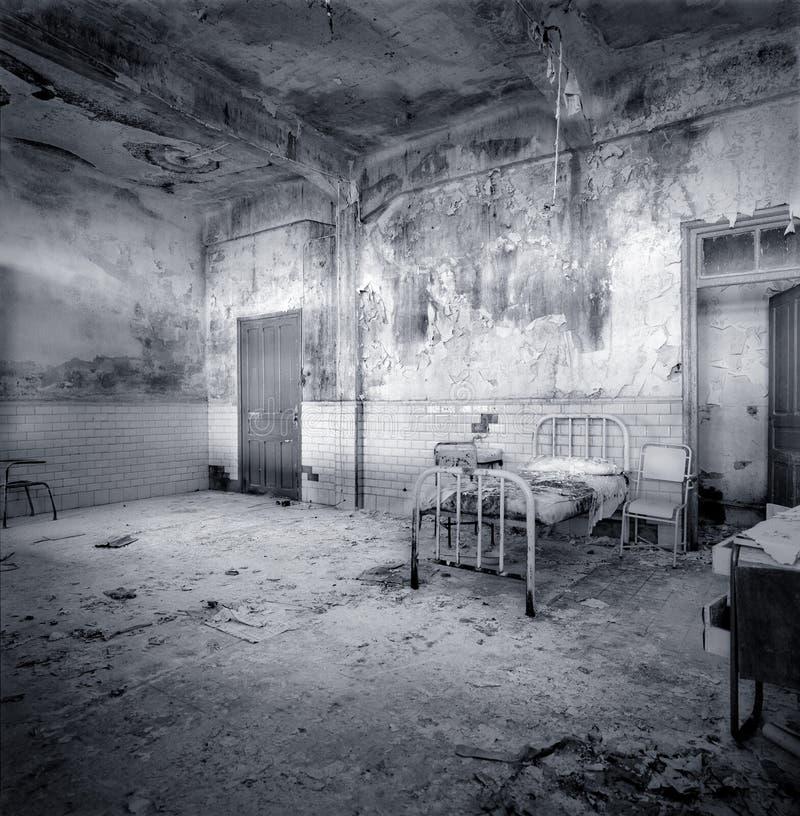 Free Decrepit Hospital Room Royalty Free Stock Photo - 11436425