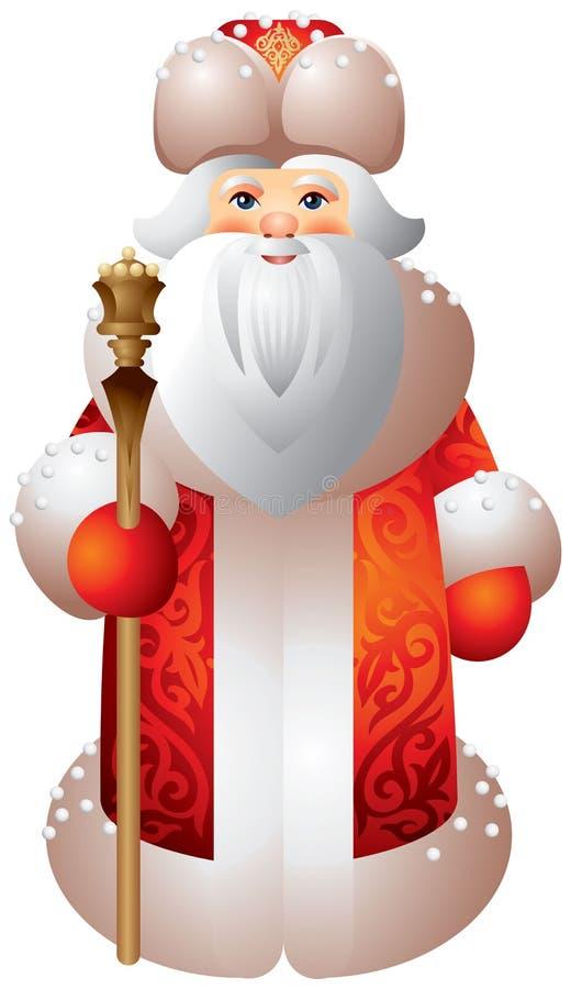 Download Ded Moroz Russian Matryoshka Style Stock Vector - Illustration: 28088216