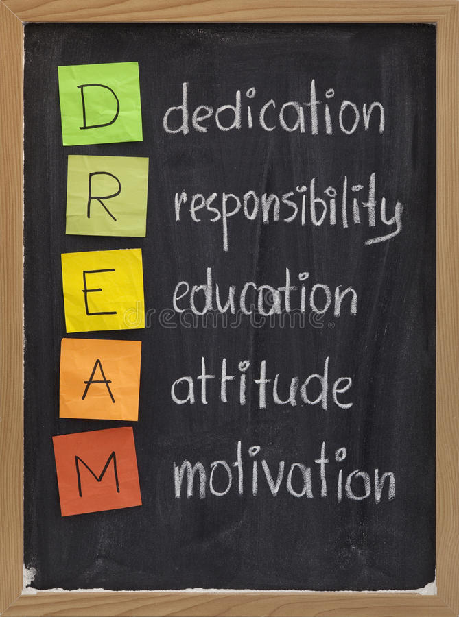 Download Dedication Responsibility Education Attitude Stock Image - Image: 11249075