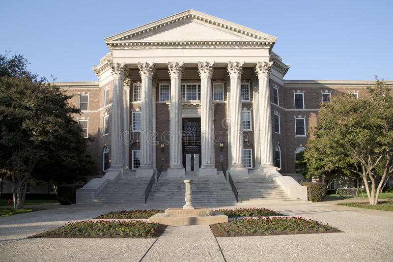 Download Dedman College In SMU Compus Stock Photo - Image: 80638244