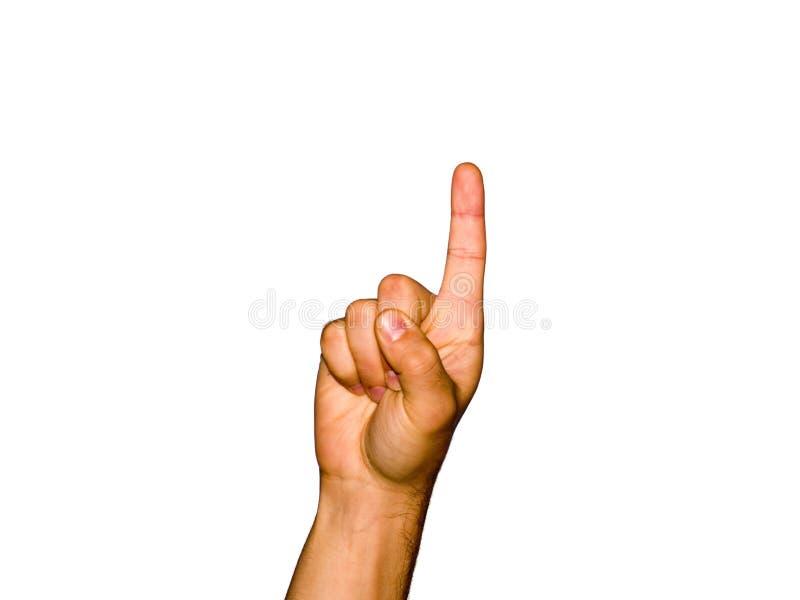 Dedos [1] imagem de stock