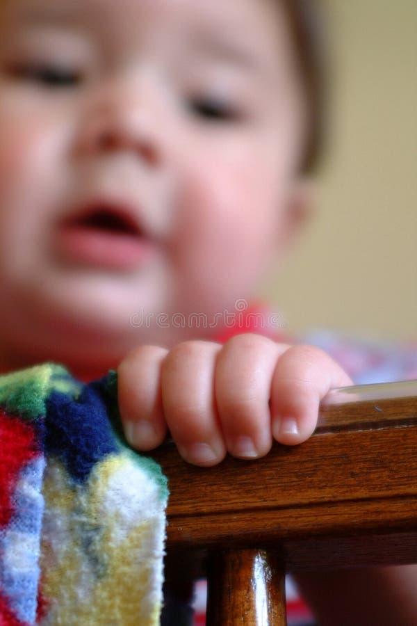 Dedos del bebé foto de archivo