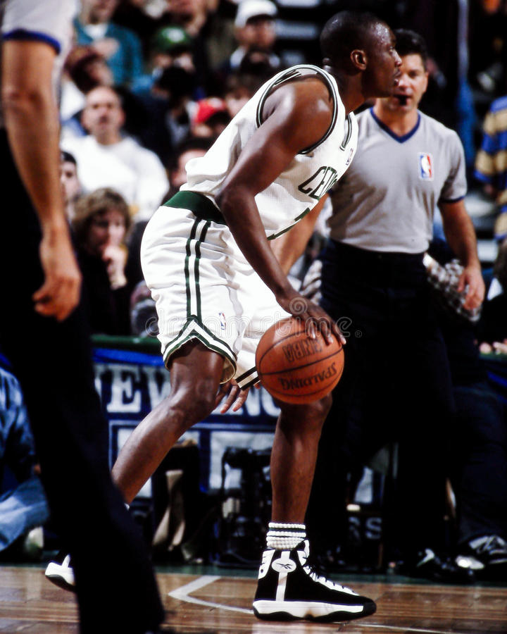 Dee Brown Boston Celtics immagini stock libere da diritti