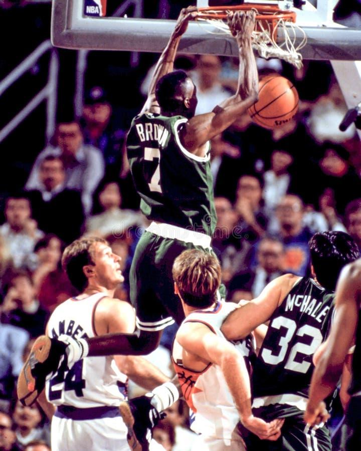 Dee Brown, Boston Celtics fotografie stock libere da diritti