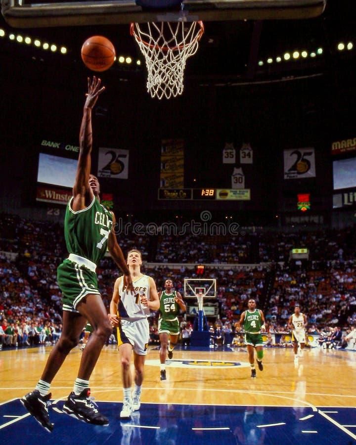 Dee Brown, Celtics de Boston fotografía de archivo libre de regalías