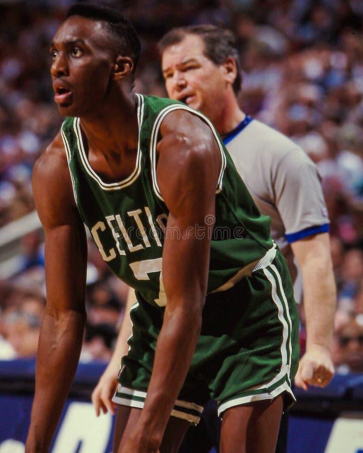 Dee Brown, Celtics de Boston photos stock