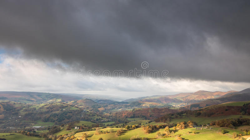 Dee Valley, Wales lizenzfreie stockfotos