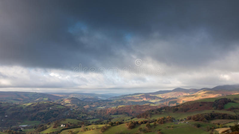 Dee Valley, Wales stock images