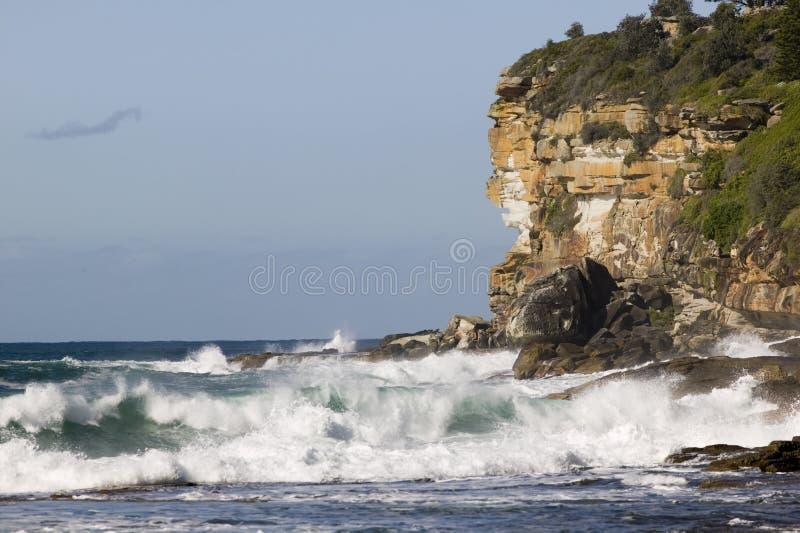Dee waarom punt, Sydney Australië stock foto's