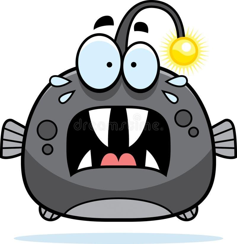 Deed schrikken Weinig Viperfish stock illustratie