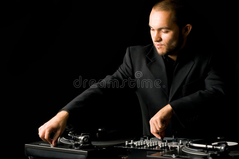 Download Deejay at work stock image. Image of party, audio, equipment - 12173539
