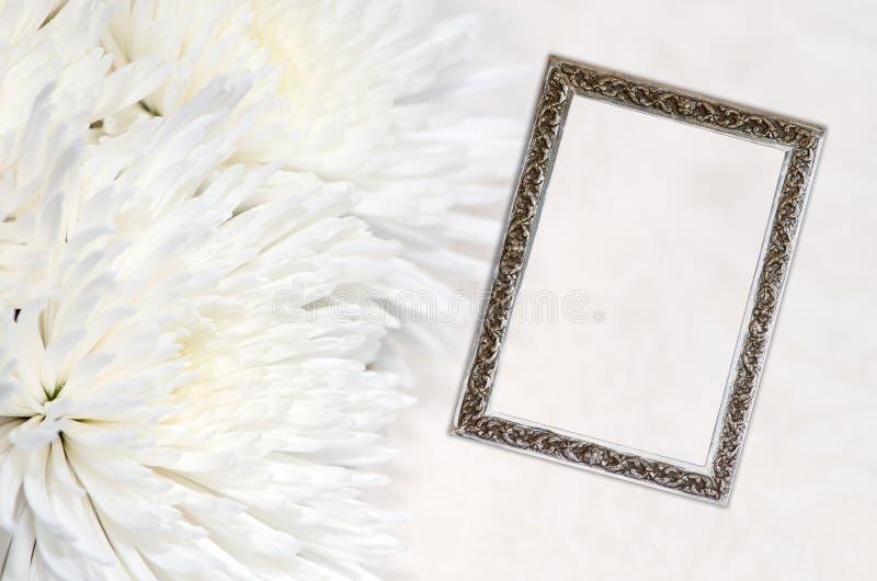 Deelneming en frame royalty-vrije stock afbeelding