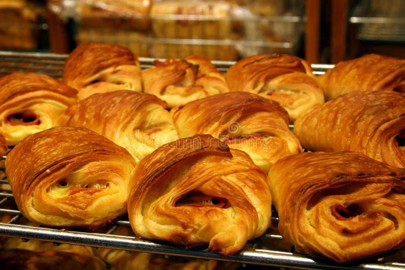 Deens gebakjes? stock afbeelding