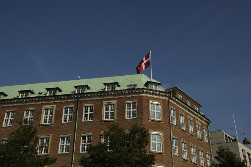 Deens ministerie van denfence stock afbeelding
