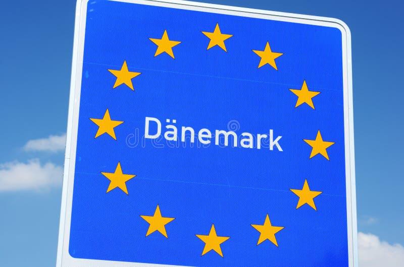 Deense Grens stock foto's