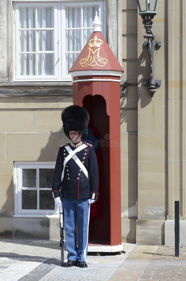 Deense Koninginwacht stock afbeeldingen