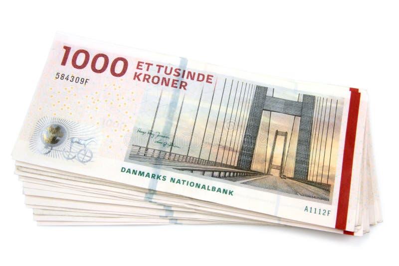 Deense kronen stock foto's