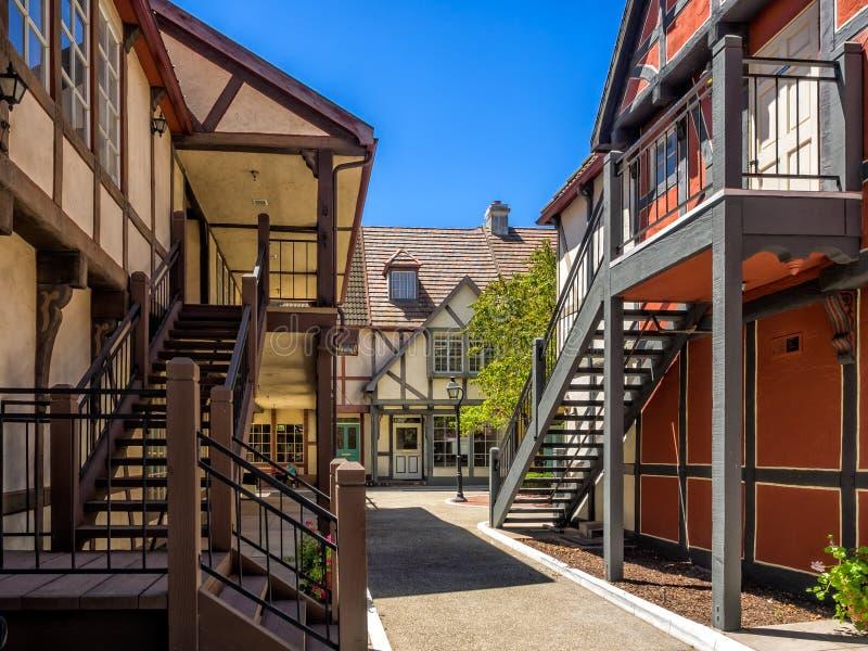 Deense stad van Solvang in Californië royalty-vrije stock foto's