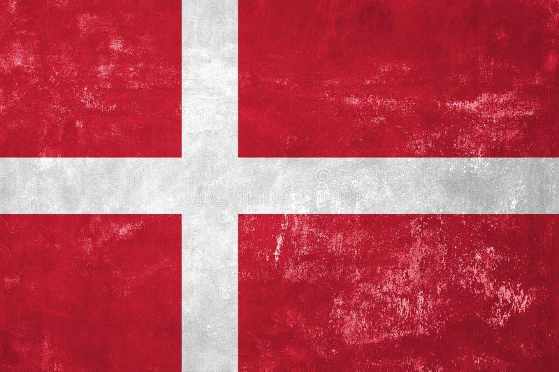 Deense Vlag stock foto's