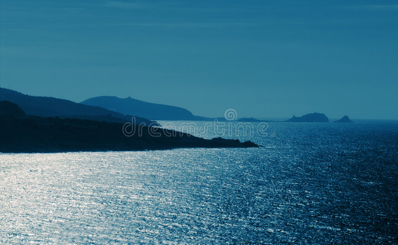 Deep blue stock images