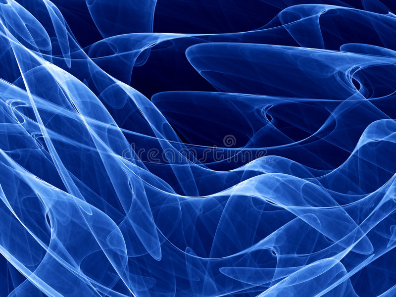 Download Deep Blue Curves Royalty Free Stock Photo - Image: 3088075