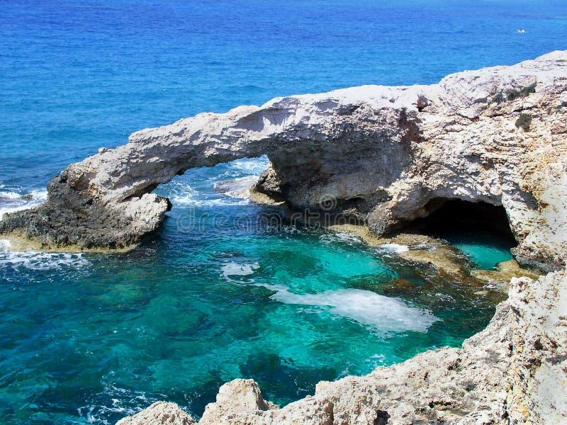 Deep blue sea. Blue sea (Cyprus