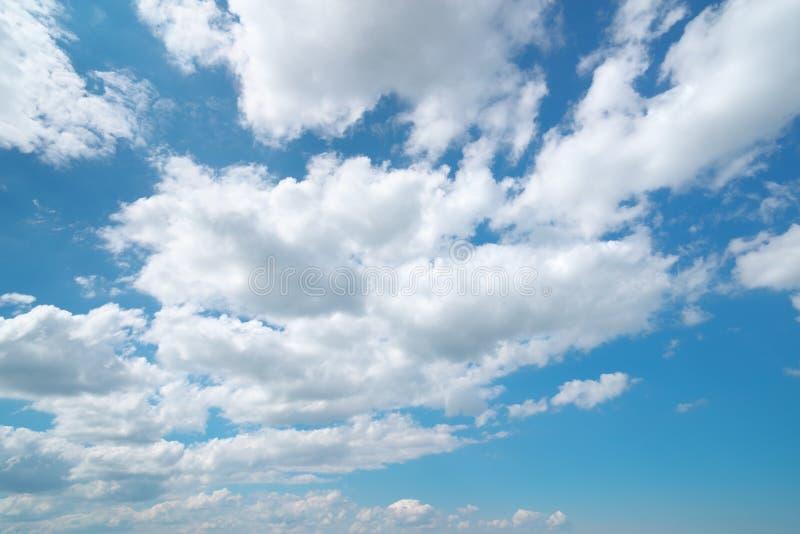 Deep blue sky stock photo