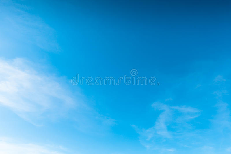 Download Deep Blue Sky stock image. Image of beauty, space, cloud - 30621033