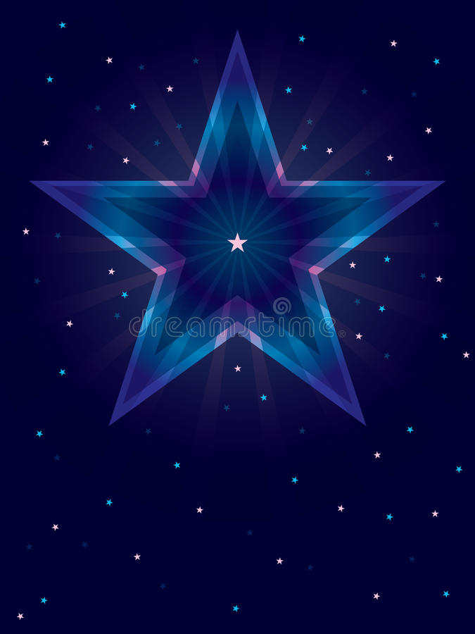 Download Star Shining Card_eps stock vector. Image of elegant - 28294135