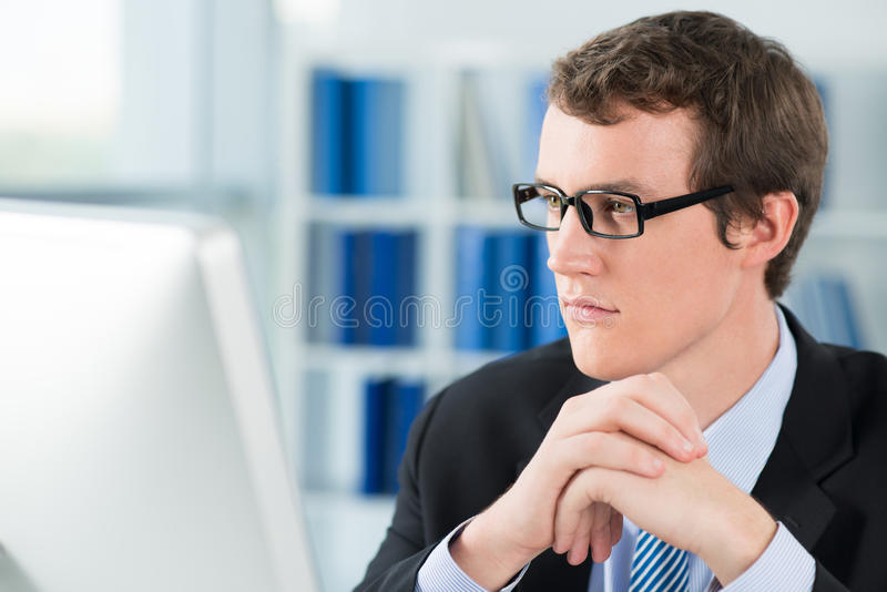 Deep concentration royalty free stock images