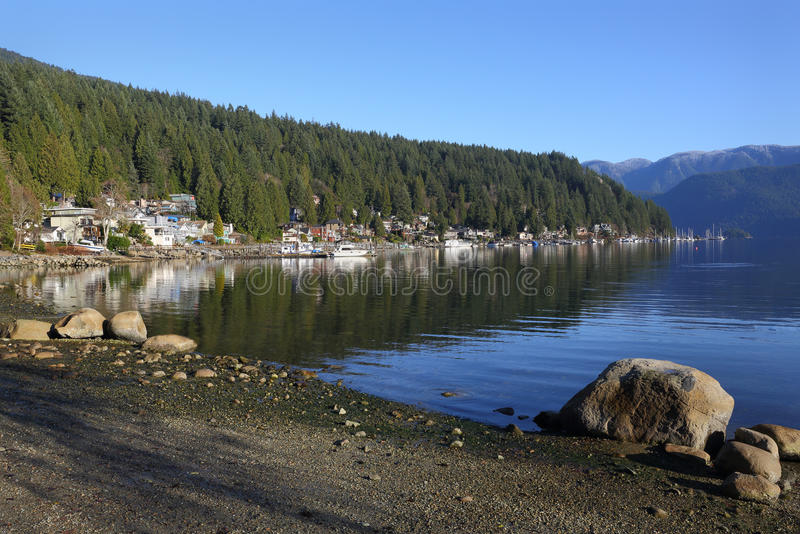 Deep Cove, British Columbia royalty free stock photos